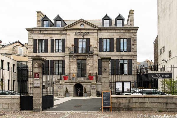 Hotel d'Edgar, Saint-Brieuc