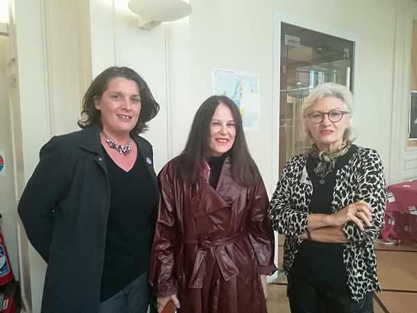 Anne Monsoon, Irène Frain et MCB